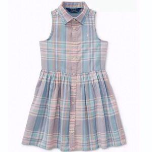 Polo Ralph Lauren Fits & Flare Cotton Shirtdress